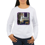Pussycat, Pussycat Women's Long Sleeve T-Shirt