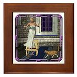 Pussycat, Pussycat Framed Tile