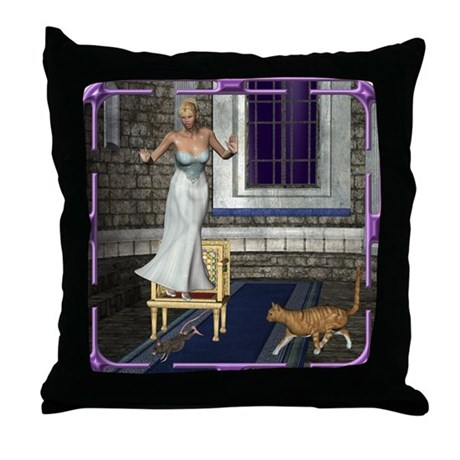 Pussycat, Pussycat Throw Pillow