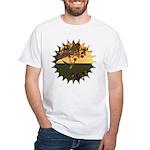 Robin Redbreast White T-Shirt