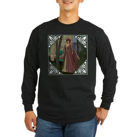 Sleeping Beauty Long Sleeve Dark T-Shirt