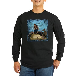 Snow White Long Sleeve Dark T-Shirt