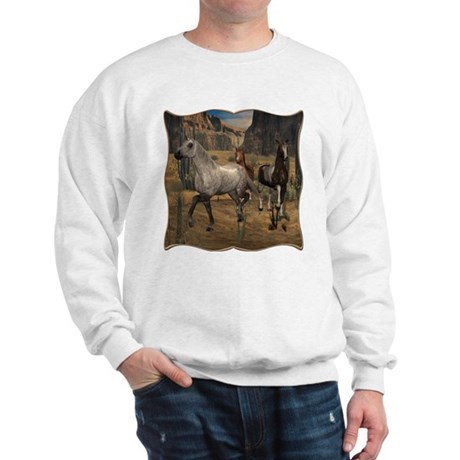 Southwest Horses Sweatshirt