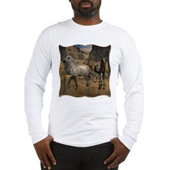 Southwest Horses Long Sleeve T-Shirt