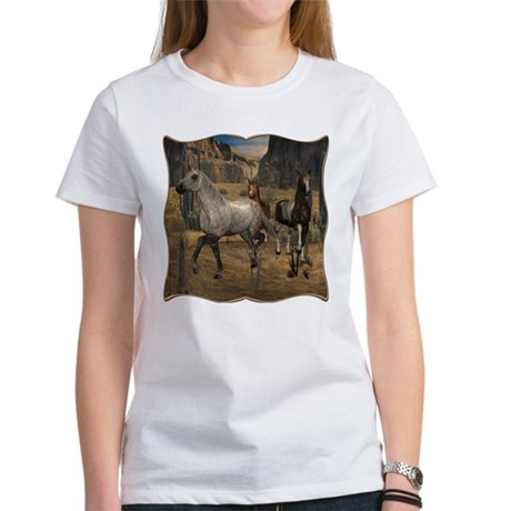 Southwest Horses Women's T-Shirt