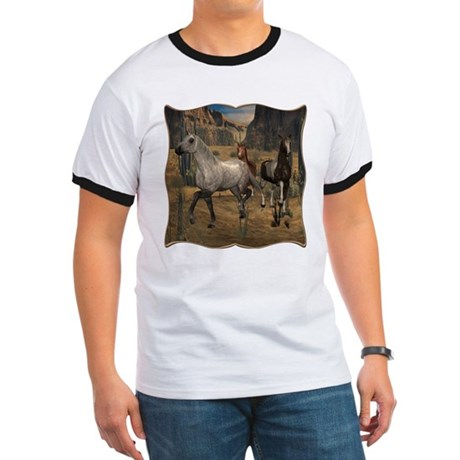 Southwest Horses Ringer T