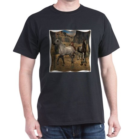 Southwest Horses Dark T-Shirt