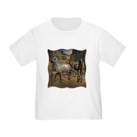 Southwest Horses Toddler T-Shirt