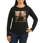 This Little Piggy Women's Long Sleeve Dark T-Shirt
