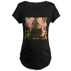 This Little Piggy Maternity Dark T-Shirt
