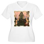 This Little Piggy Women's Plus Size V-Neck T-Shirt