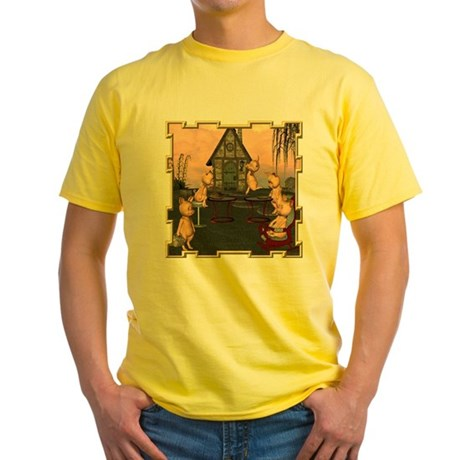 This Little Piggy Yellow T-Shirt