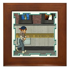 Tom, Tom Piper's Son Framed Tile