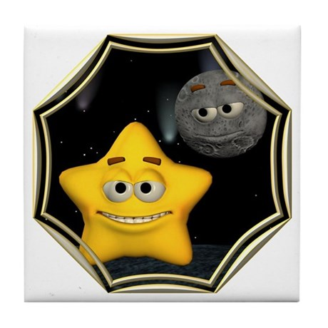 Twinkle, Twinkle Little Star Tile Coaster