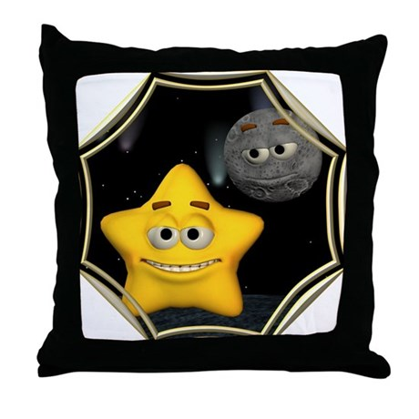 Twinkle, Twinkle Little Star Throw Pillow