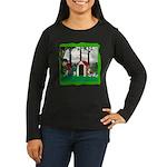 Where, Oh Where? Women's Long Sleeve Dark T-Shirt
