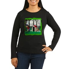 Where, Oh Where? Women's Long Sleeve Dark T-Shirt