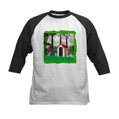 Where, Oh Where? Kids Baseball Jersey