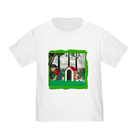 Where, Oh Where? Toddler T-Shirt