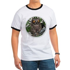 The Wise Old Owl Ringer T