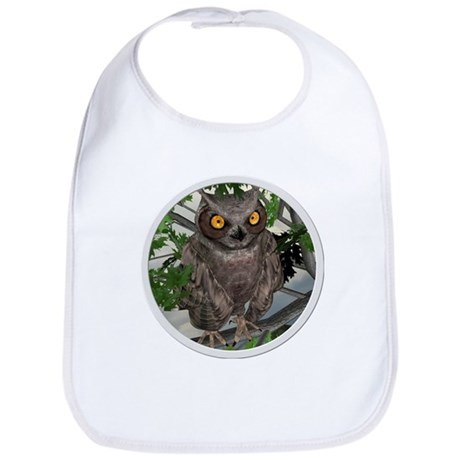 The Wise Old Owl Bib