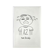 Unique Brady Rectangle Magnet (100 pack)
