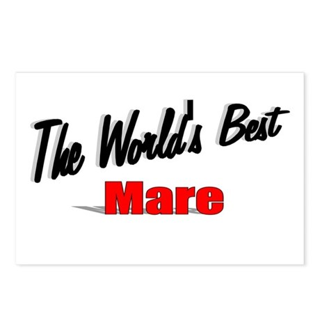 """The World's Best Mare"" Postcards (Package of 8)"
