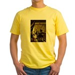 The Artist-AussieShep1 Yellow T-Shirt