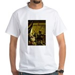 The Artist-AussieShep1 White T-Shirt