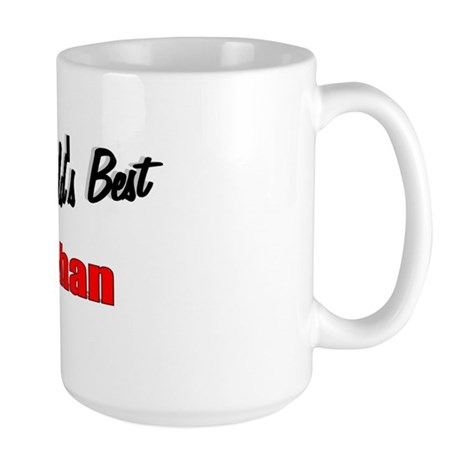 """The World's Best Inahan"" Large Mug"