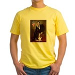 Lincoln / Basset Hound Yellow T-Shirt