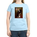 Lincoln / Basset Hound Women's Light T-Shirt