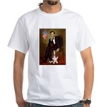 Lincoln / Basset Hound White T-Shirt