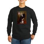 Lincoln / Basset Hound Long Sleeve Dark T-Shirt