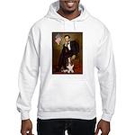 Lincoln / Basset Hound Hooded Sweatshirt