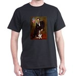 Lincoln / Basset Hound Dark T-Shirt
