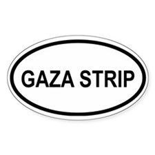 Gaza Strip Oval Decal