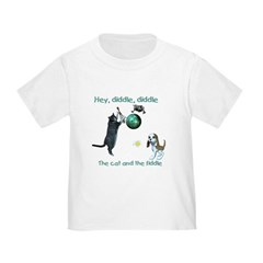 Cat and the Fiddle - Toddler T-Shirt