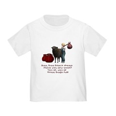 Baa Baa Black Sheep - Toddler T-Shirt