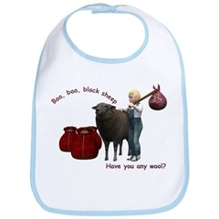 Baa Baa Black Sheep - Bib