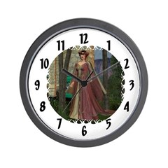 Wall Clock - Sleeping Beauty
