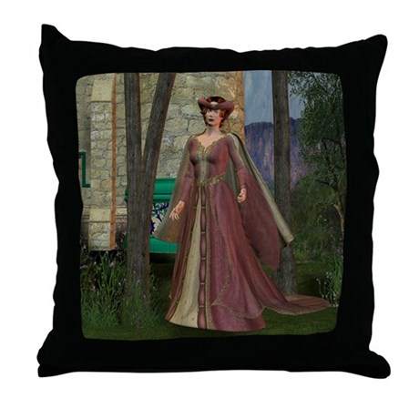 Throw Pillow - Sleeping Beauty