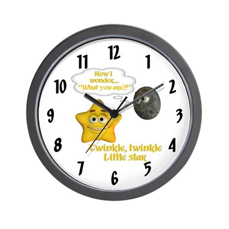 Wall Clock - Twinkle, Twinkle