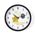 Wall Clock - Twinkle, Twinkle