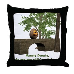 Throw Pillow - Humpty Dumpty