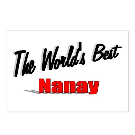 """The World's Best Nanay"" Postcards (Package of 8)"