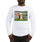 Lilies / Bearded Collie Long Sleeve T-Shirt