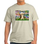 Lilies / Bearded Collie Light T-Shirt