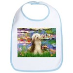 Lilies / Bearded Collie Bib
