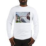 Creation / Bearded Collie Long Sleeve T-Shirt